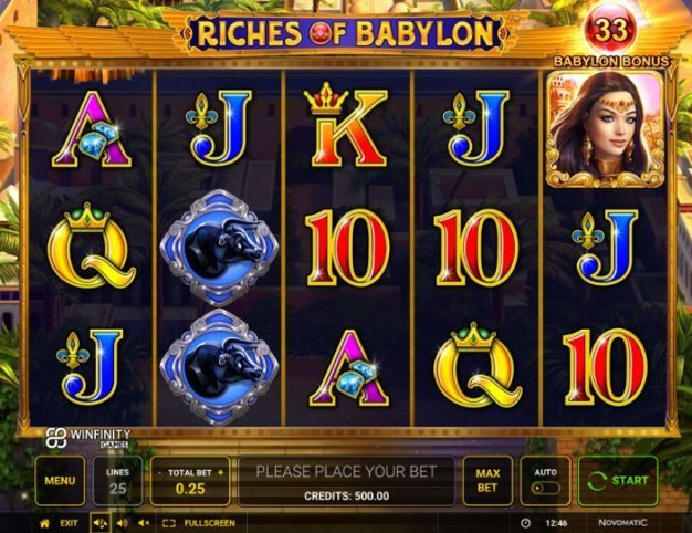 Casino europeo Ancient Riches – 30172